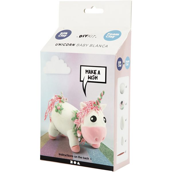 unicorn feestje knutselpakket