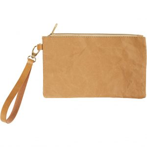 leerpapier vegan papier faux leather clutch